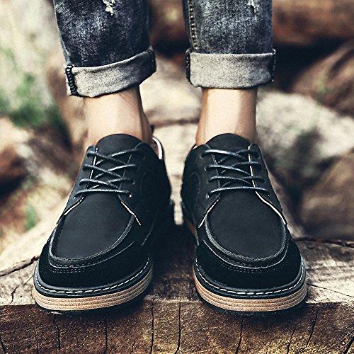 Derby suède Noir Chaussures Derbies Homme lacets Sports Ben à nFYqPAxS