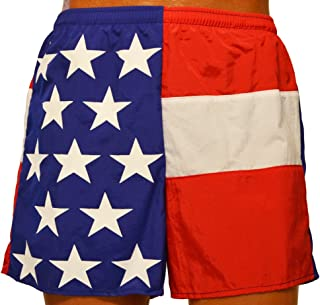 product image for Soark Mens Longcut American Flag Shorts