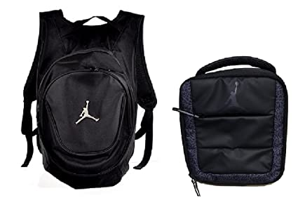 37507d53de57bf Image Unavailable. Image not available for. Color  Nike Air Jordan Jumpman  Kids Backpack   Insulated Lunch ...