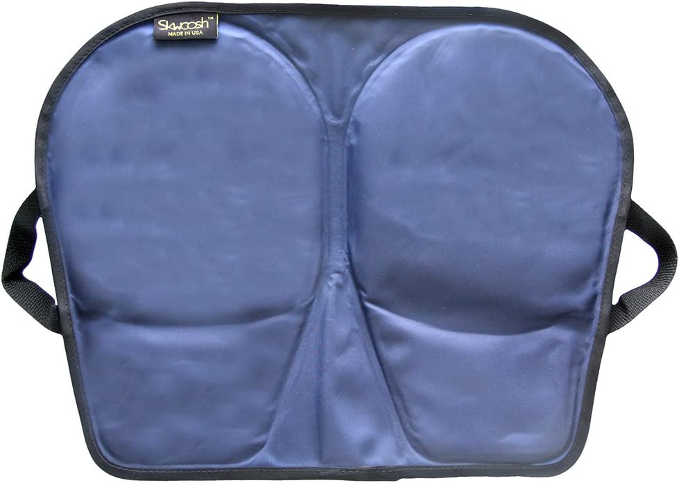 B004V6QB6G SKWOOSH Wheelchair Gel Pad Incontinent Proof - Lightweight & Made in USA 61xfwuT67LL