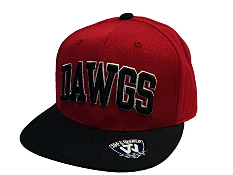 Image Unavailable. Image not available for. Color  Top of the World Georgia  Bulldogs Flatbill ... fa580cb2f08