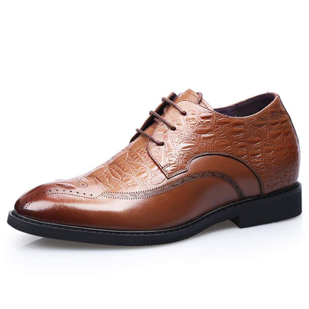 MMJ Herrenschuhe, Spring British Business Schuhe, Herren Leder Formelle Business-Schuhe für Freizeitkleidung Party & Abend,a,38