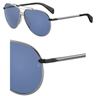 2f3ca0dbcd84 Sunglasses Rag & Bone Rnb 5008 /S 0SVK Semi Matte Ruthenium Black ...