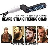 Hair Straightener For Men, Beard Straightener Men's Quick Styling Comb Hair Curlers Hair Straightener Magic Massage Comb Beard Straightener Multifunctional Hair Comb