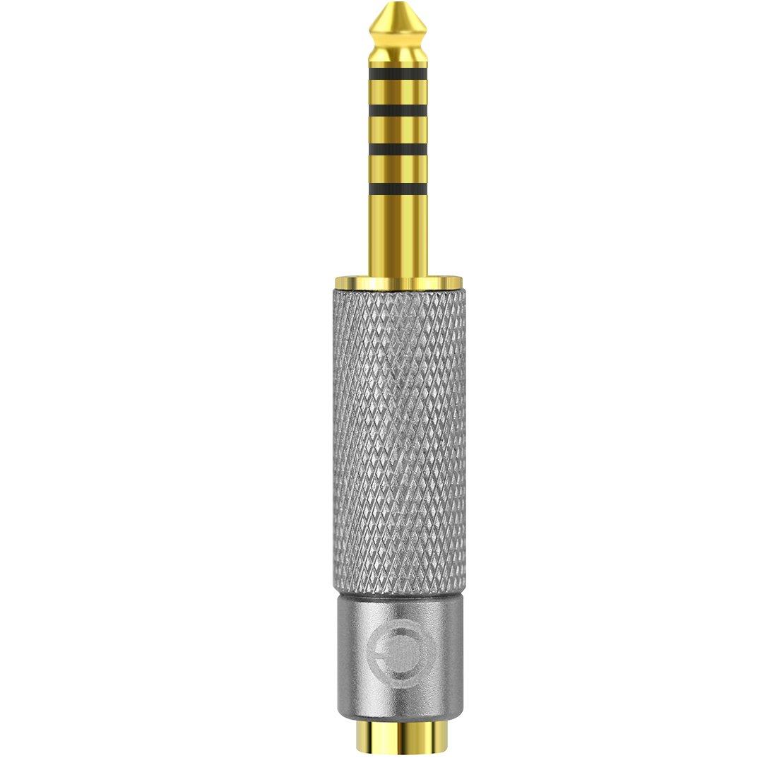 Adaptador 4.4mm Macho a 3.5mm Hembra Balanceado Geekria