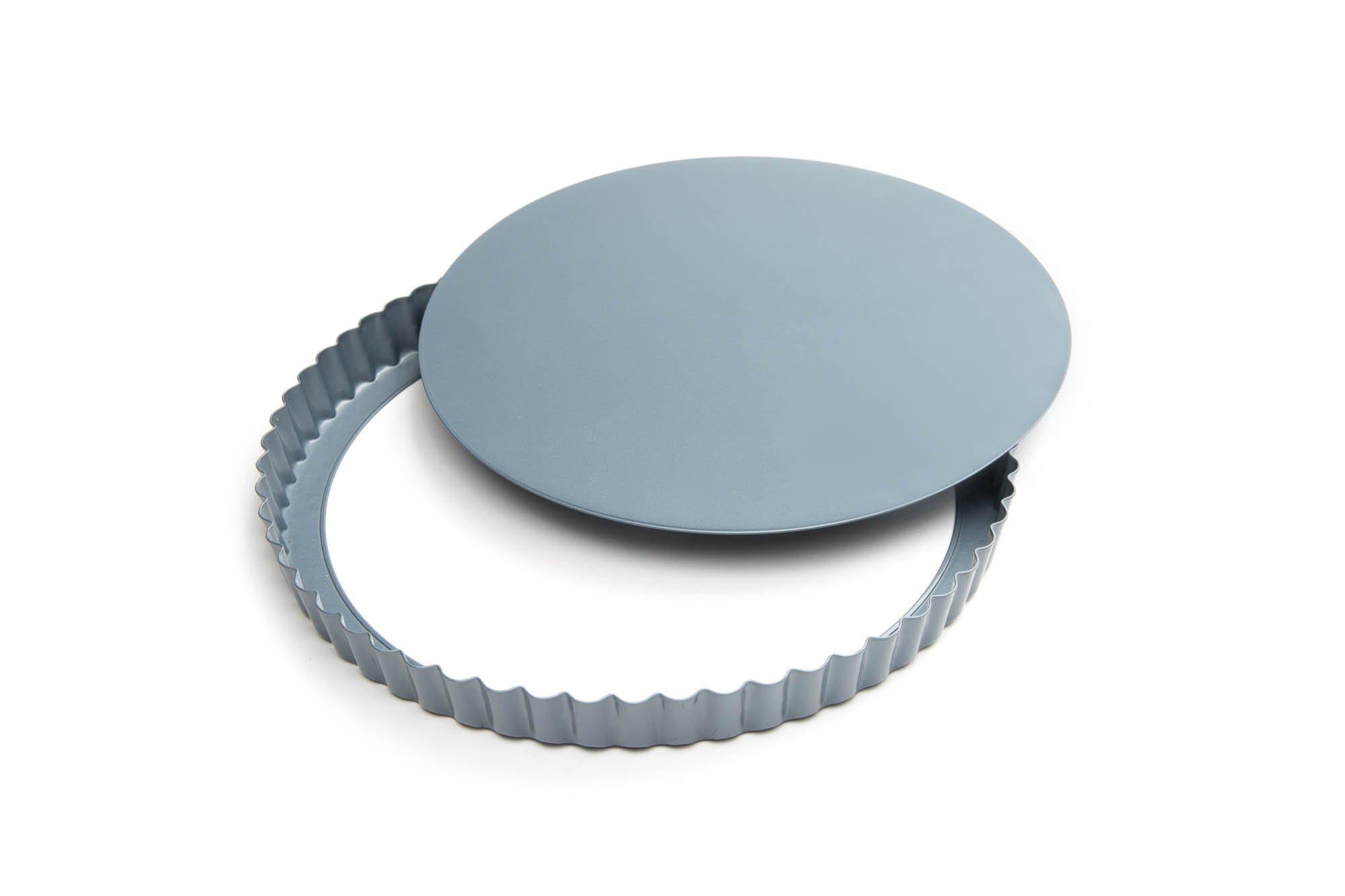 Fox Run 4435 Loose Bottom Quiche Pan, Carbon Steel, Non-Stick, 9.375-Inch