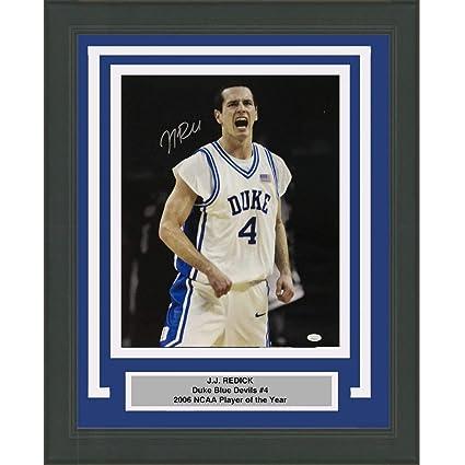 be7dd66a13f3 Framed Autographed Signed JJ J.J. Redick Duke Blue Devils 16x20 College  Basketball Photo JSA COA