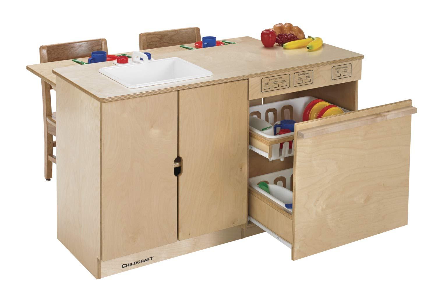Childcraft モダンキッチンシンクと食器洗い機コンボ 43-1/2 x 29-3/4 x 24-3/8インチ   B079SWCWZJ