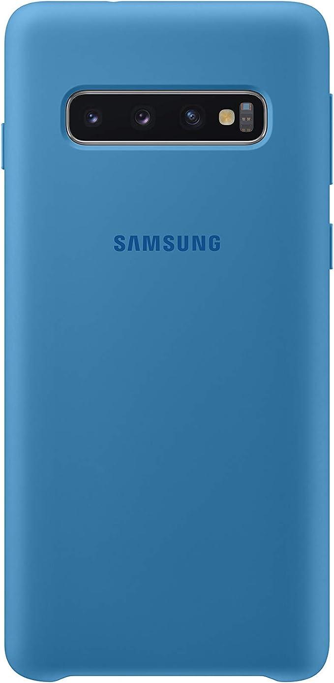 Silicone Cover Für Galaxy S10 Blau Elektronik