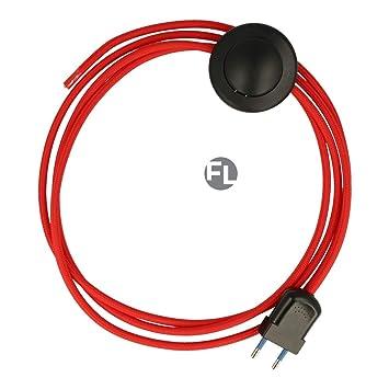 Cable con interruptor de pie para lámparas de pie o de pie ...