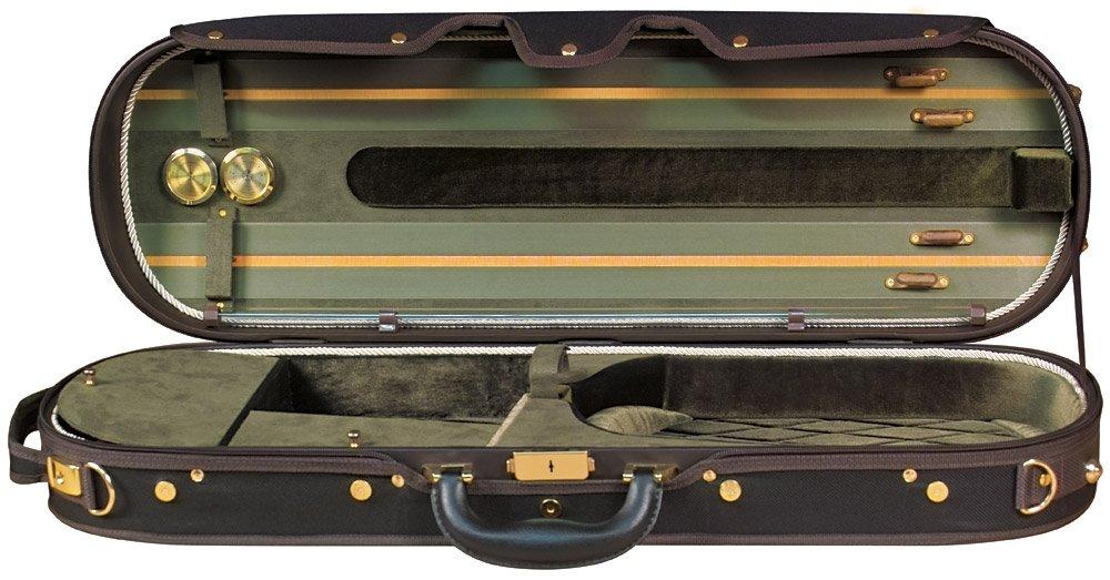 Baker Street BK-4030 Luxury Violin Case - Modern Oblong