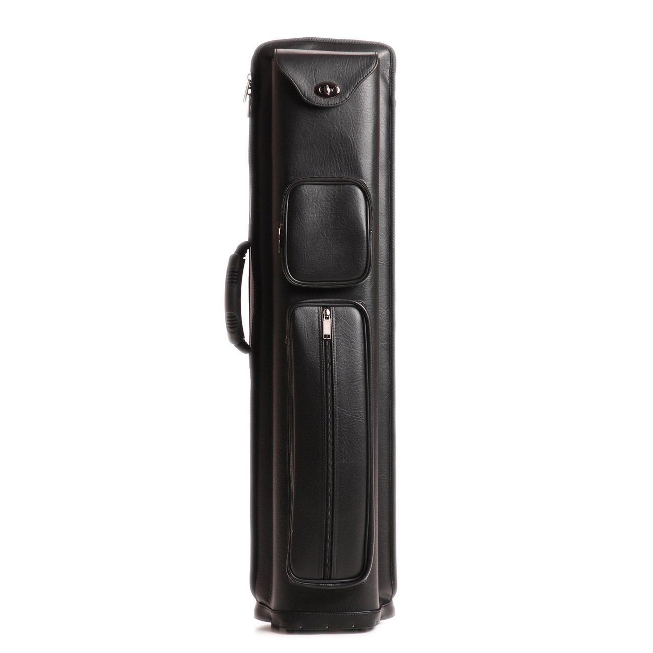 6 Shaft 4 Butt Black Leatherette 4x6 Pro 4B6S Combo Cue Case