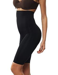 5b122289152f4 Beilini Women s High Waist Thigh Shapewear Tummy Firm Control Lift Bum  Shaper