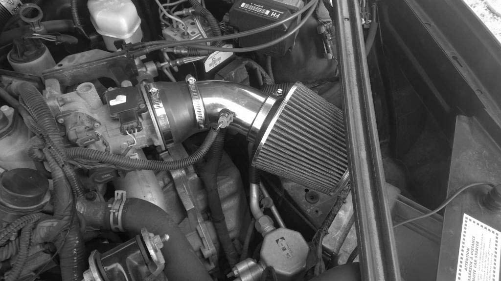 PERFORMANCE AIR INTAKE KIT FIT 1995-2005 PONTIAC BONNEVILLE Black 2000-2005 CHEVY IMPALA 3.8L V6 ENGINE 1995-2005 CHEVY MONTE CARLO