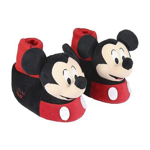 Cerdá 3D Mickey, Zapatillas de Estar por casa para Niños: Amazon.es: Zapatos y complementos