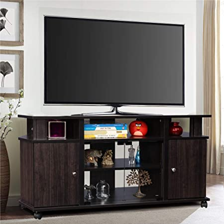 HomeTown Lynton Engineered Wood TV Unit in Brown Colour TV   Entertainment Units
