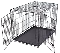 "Internet's Best 24"" black cage + black tray"