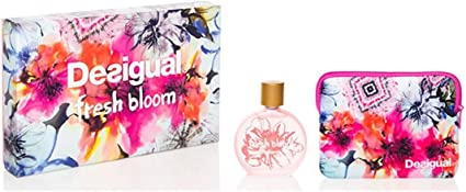 Desigual Profumo Set Fresh Bloom Eau de Toilette Spray con