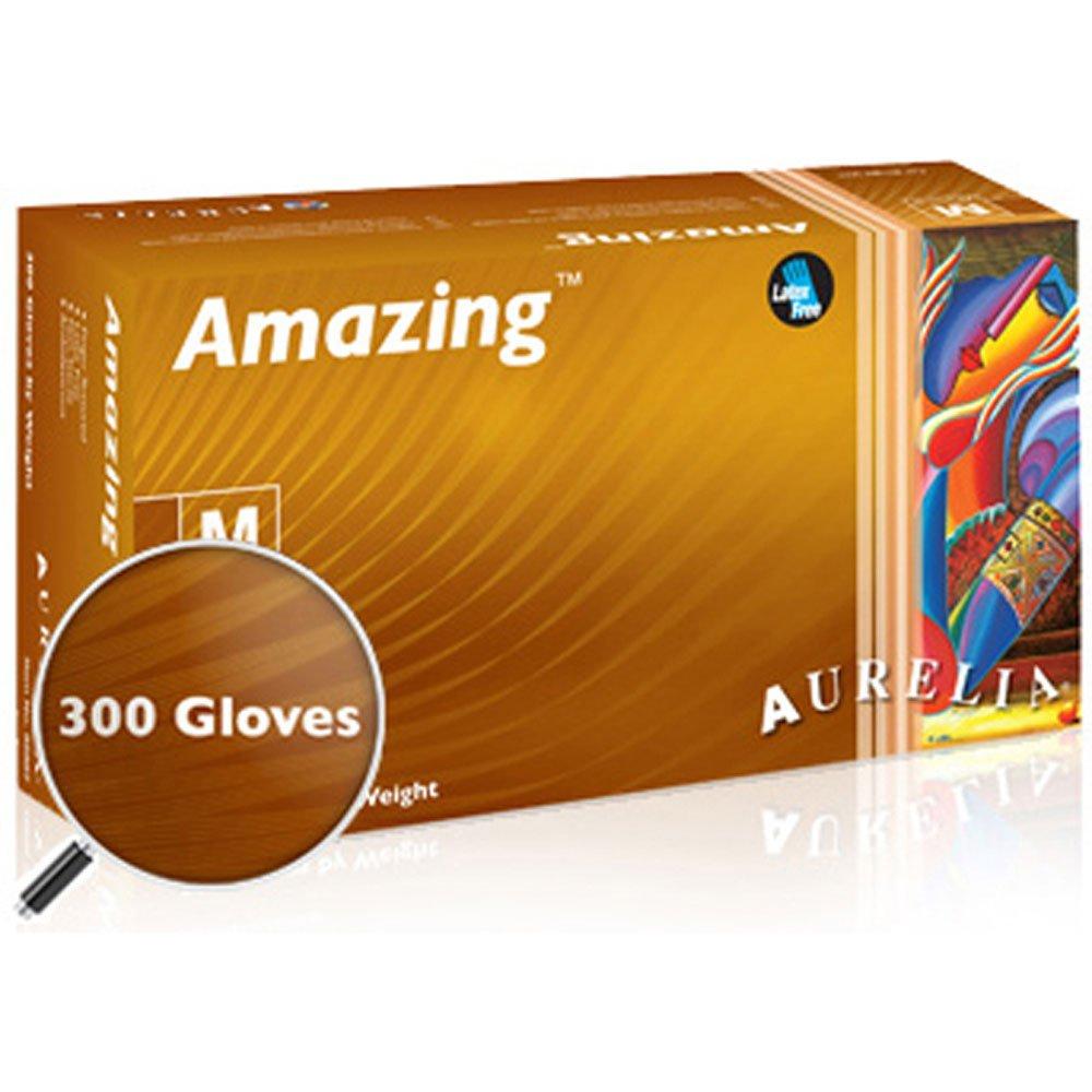 Aurelia Amazing Nitrile Exam Gloves-Small-3000/Case