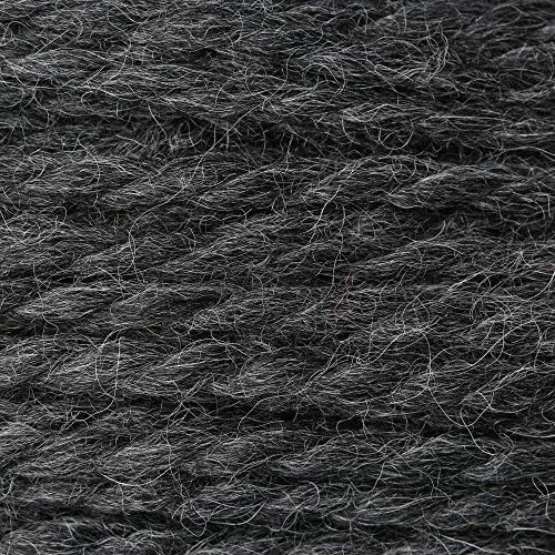 Plymouth - Baby Alpaca Grande Knitting Yarn - Charcoal (# - Chunky Charcoal Alpaca