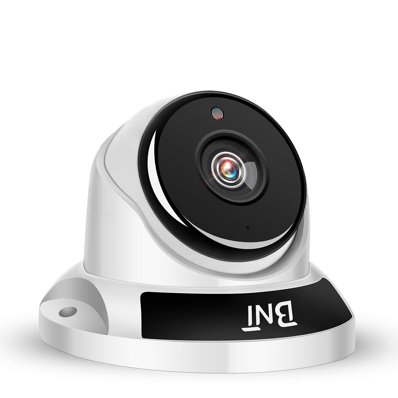 BNT 1080P Security Camera Aluminium Alloy Body with Plastic Base Dome Home Camera AHD CCTV Camera Indoor Surveillance Camera HD Video Camera