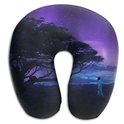 KopgLnm Angry Black Panther Wallpaper Neck Pillow Comfortable Soft Microfiber Supportive Travel For
