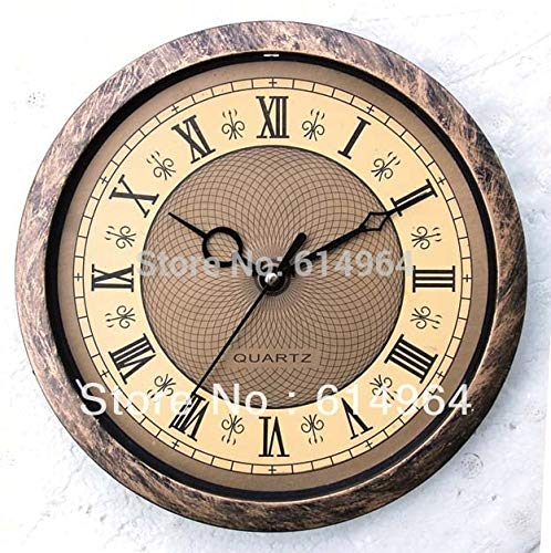 Maslin New Style Insert Clock Clock Head Watch Movement 195mm(14B) Clock Parts Roma Number 5pcs/lot,