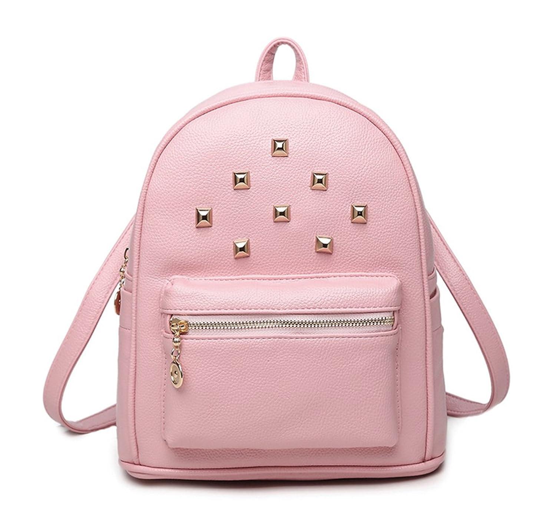 Keshi Pu Fashion Backpack Bag, Fashion Cute Lightweight Backpacks for Teen Young Girls