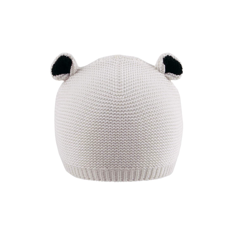 67c9784329d mimixiong Newborn Baby Knit Hat Crochet Cartoon Bear Ears Warn ...