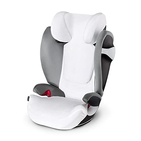 Cybex Funda de Verano para Pallas S-Fix y Solution S-Fix, 8.5 x 20 x 18 cm, Blanco