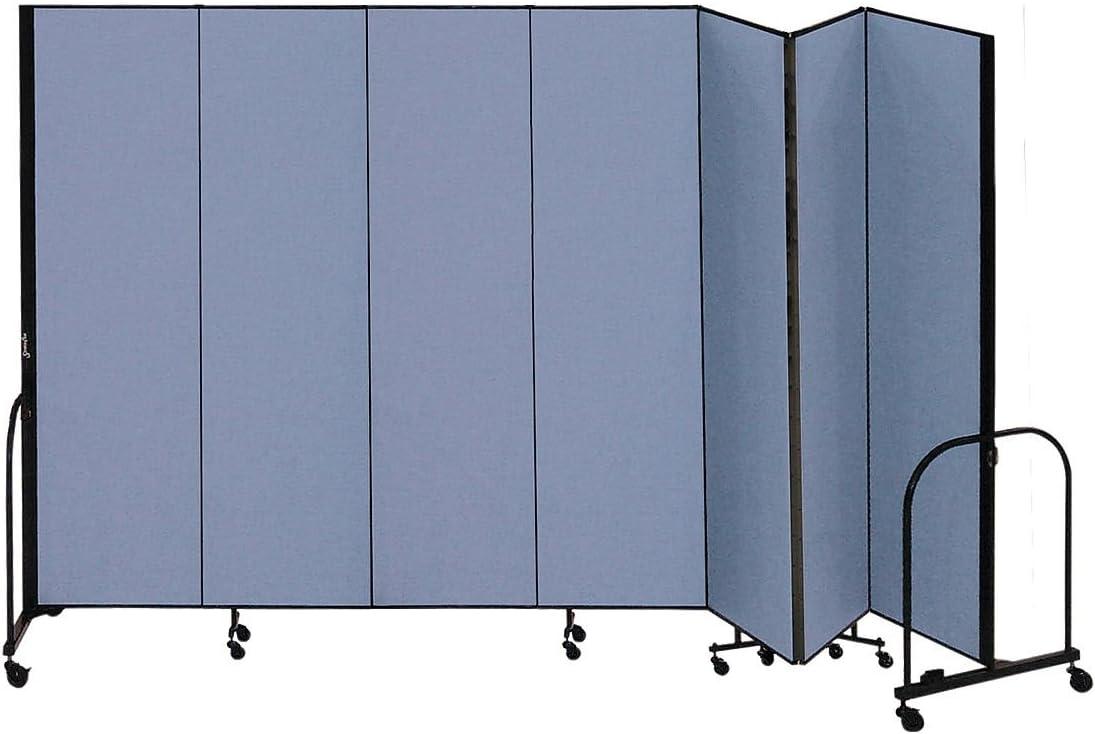 Screenflex® CFSL747BLUE - 33 m Separador de habitación portátil de 7 paneles, color azul: Amazon.es: Oficina y papelería
