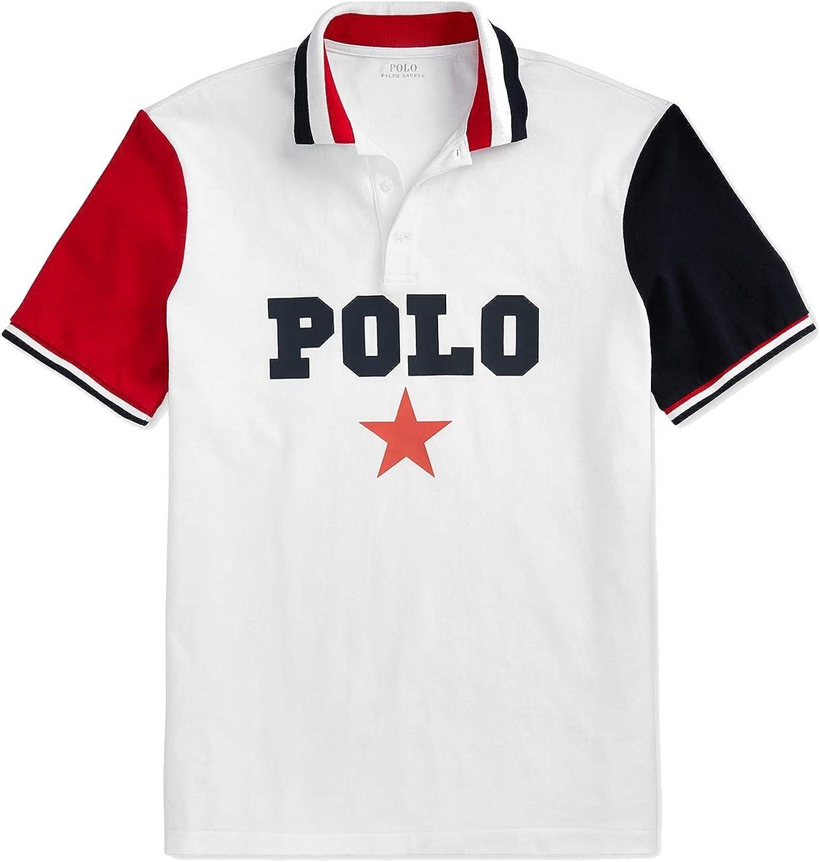 Ralph Lauren Polo para hombre, clásico, malla de algodón, manga ...