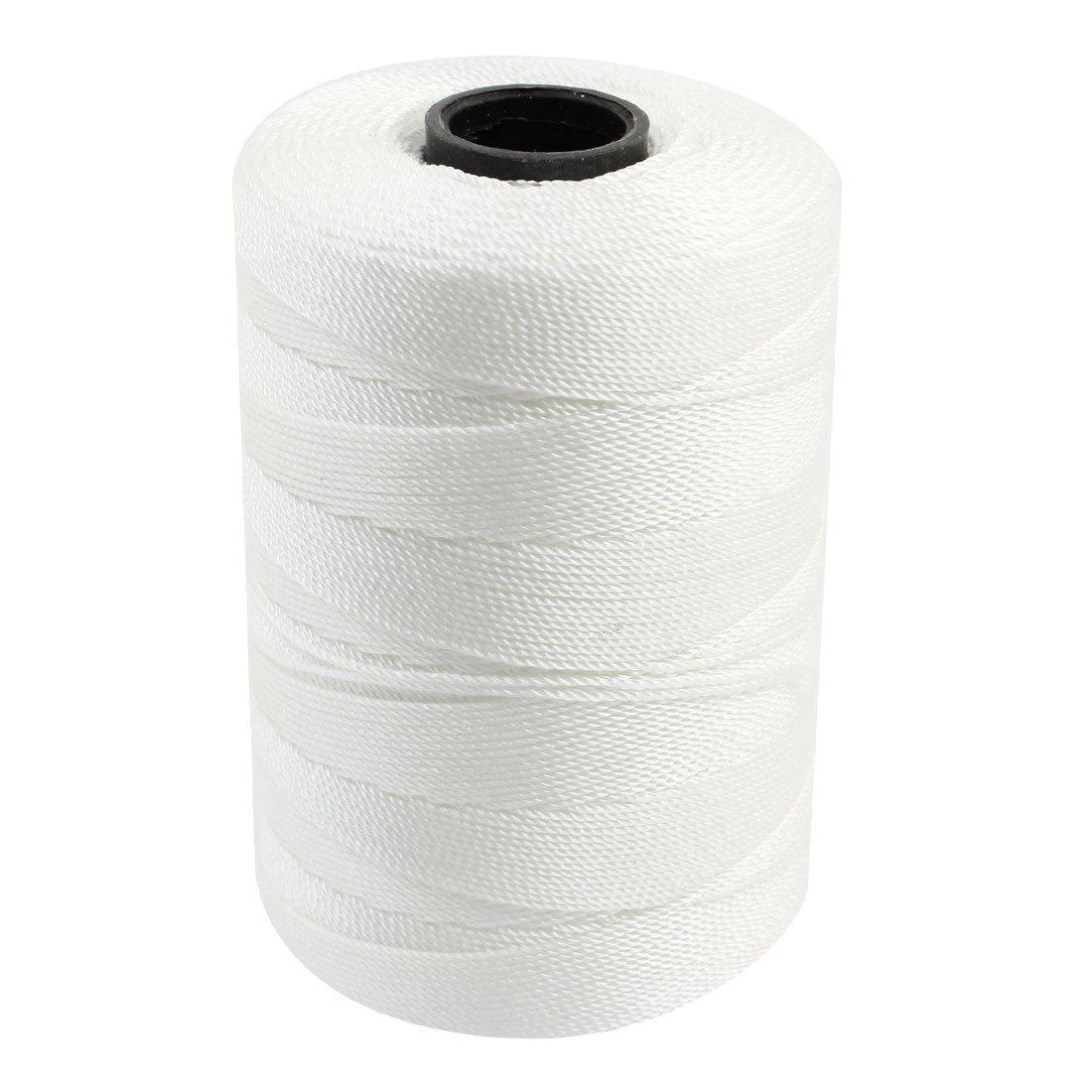 Corde ficelle paracorde en nylon tress/é blanc/-/Longueur de 5/m