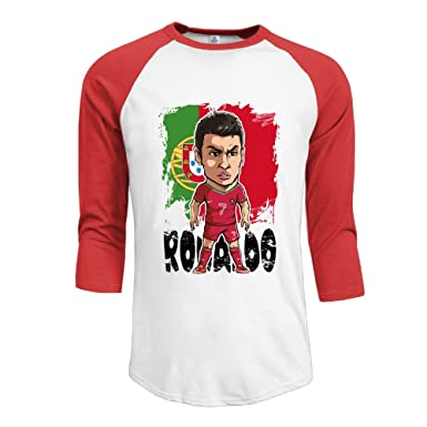 the latest 981bd 2787d For Men Athletic Cristiano Ronaldo CR7 Online 3/4 Sleeve ...