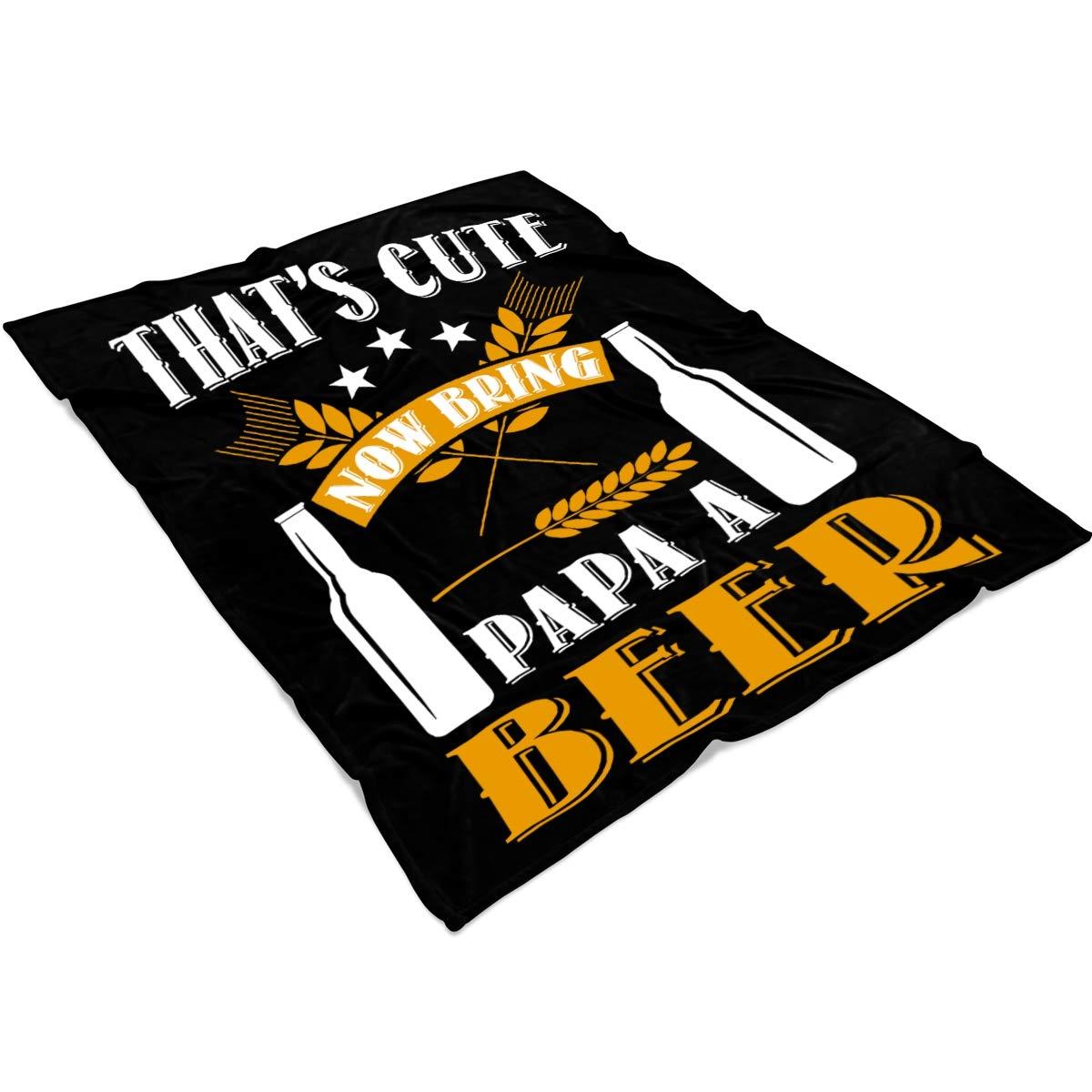Amazon.com: COLUSTORE Thats Cute Soft Fleece Throw Blanket ...