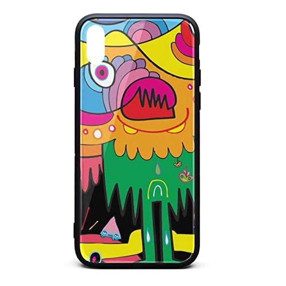 Amazon Com Colorful Art Cartoon Fun Wallpaper Iphonex