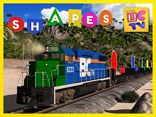 - Shapes Train Island Adventure