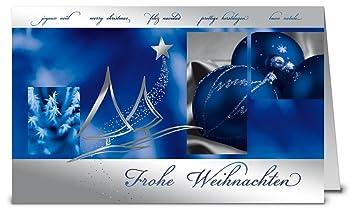 Weihnachtskarten Mit Umschlag Set 50 Stück Hochwertige Klappkarten