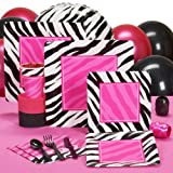 Zebra Graduation Party Standard Pack for 16 Party Accessory