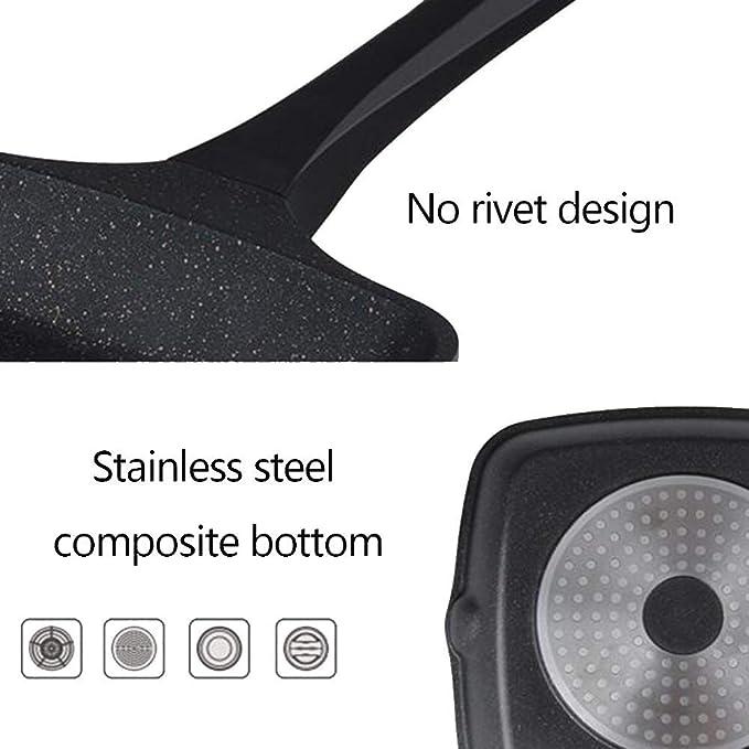 Amazon.com: YEARLY - Sartén antiadherente de hierro fundido ...