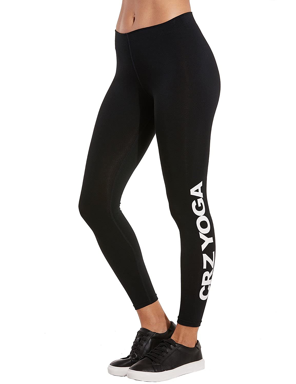 CRZ YOGA Mallas Deportes Mujer Leggings Yoga Pantalon Pirata ...