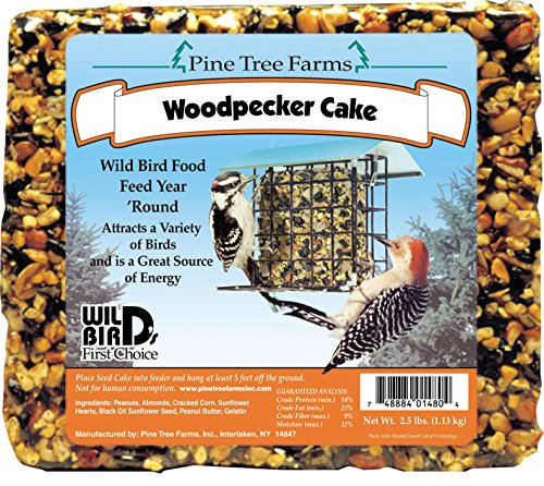 Woodpecker Seed Cake,8 pack,2.5lbs each ()