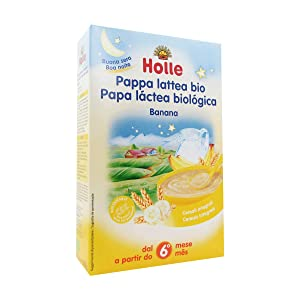 Holle Bio Banana Milky Porridge Good Night 6m + 250g