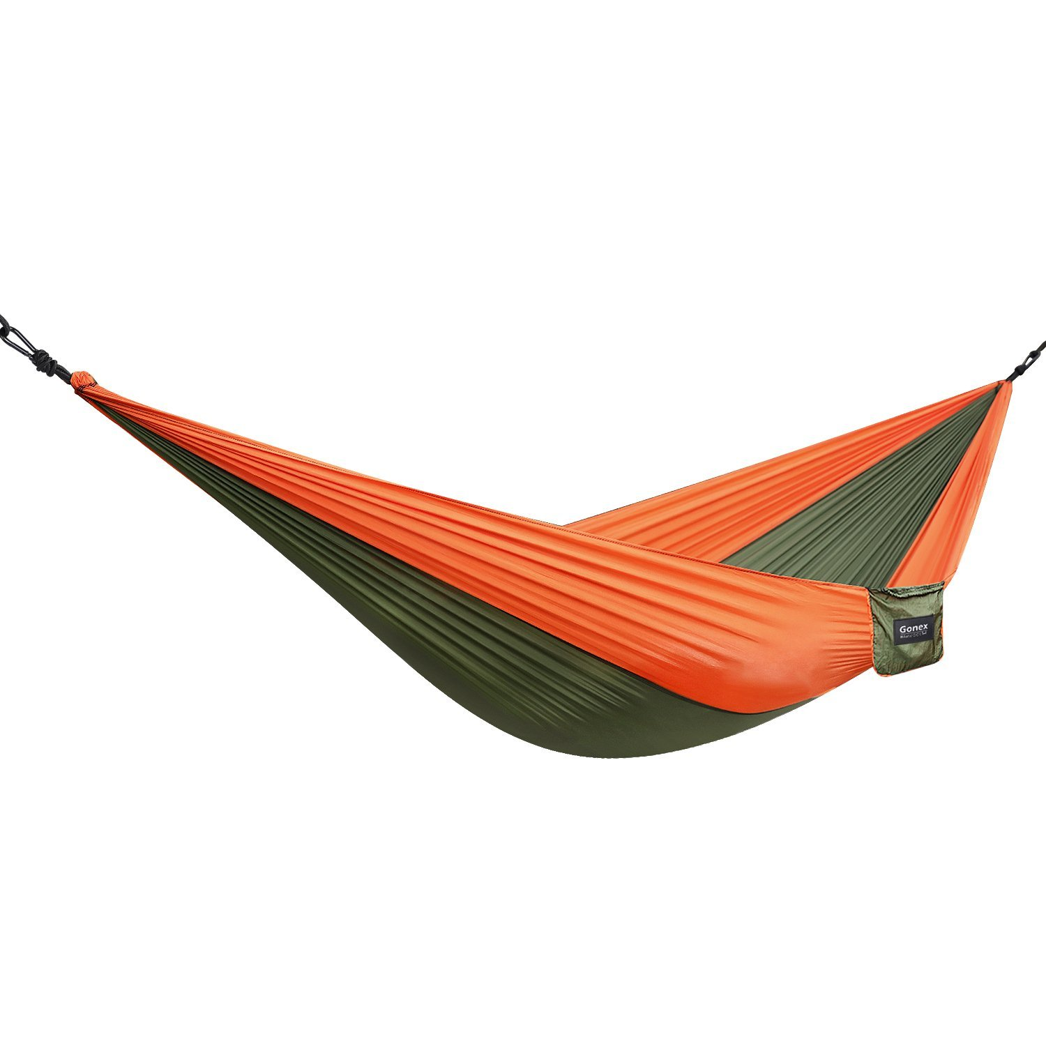 camping hammock gonex lightweight portable nylon hammock for backpacking camping travel beach amazon    portable backpacking banana hammock for men dream sale      rh   amazon