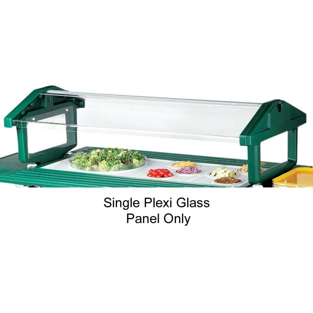 Cambro 47241 Sneeze Guard Panel for 5 ft. Food Bar