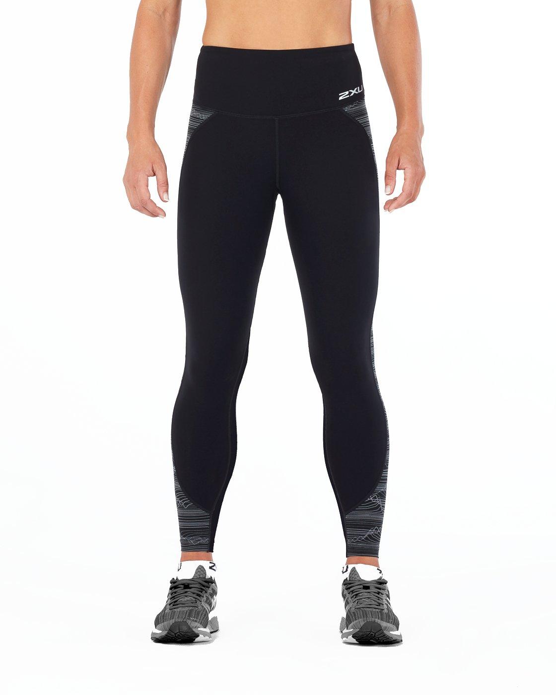 232c74714a Amazon.com : 2XU Women's Fitness Hi-Rise Compression Tights : Clothing