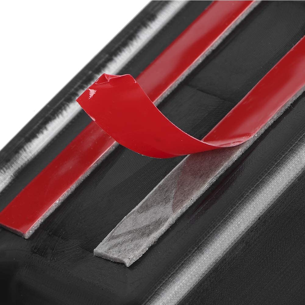Duokon 4pcs Car Scuff Plate Threshold Decoration Trim Fit for Jeep Wrangler JK 4 Door 2007-2017