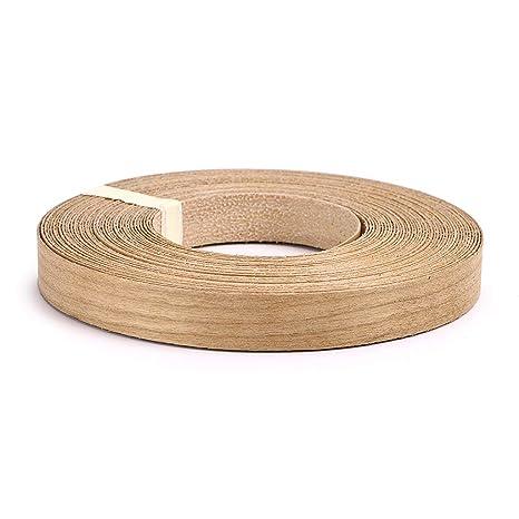 Skelang Cherry 3 4 X 50 Roll Wood Veneer Edge Banding Preglued Iron On With Hot Melt Adhesive Edgebanding Flexible Wood Tape