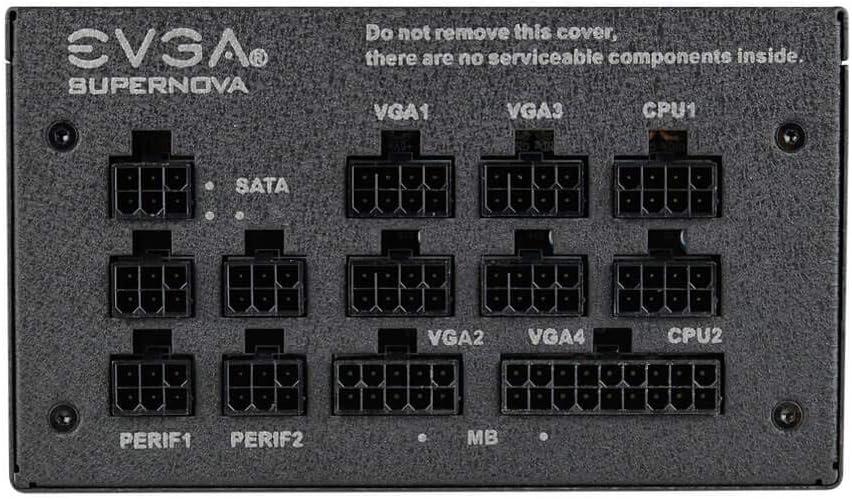 S/Ãrie 120-GP-0650-X2 ALIMENTATIONS EVGA 601-850 Watt 650W Gold G1