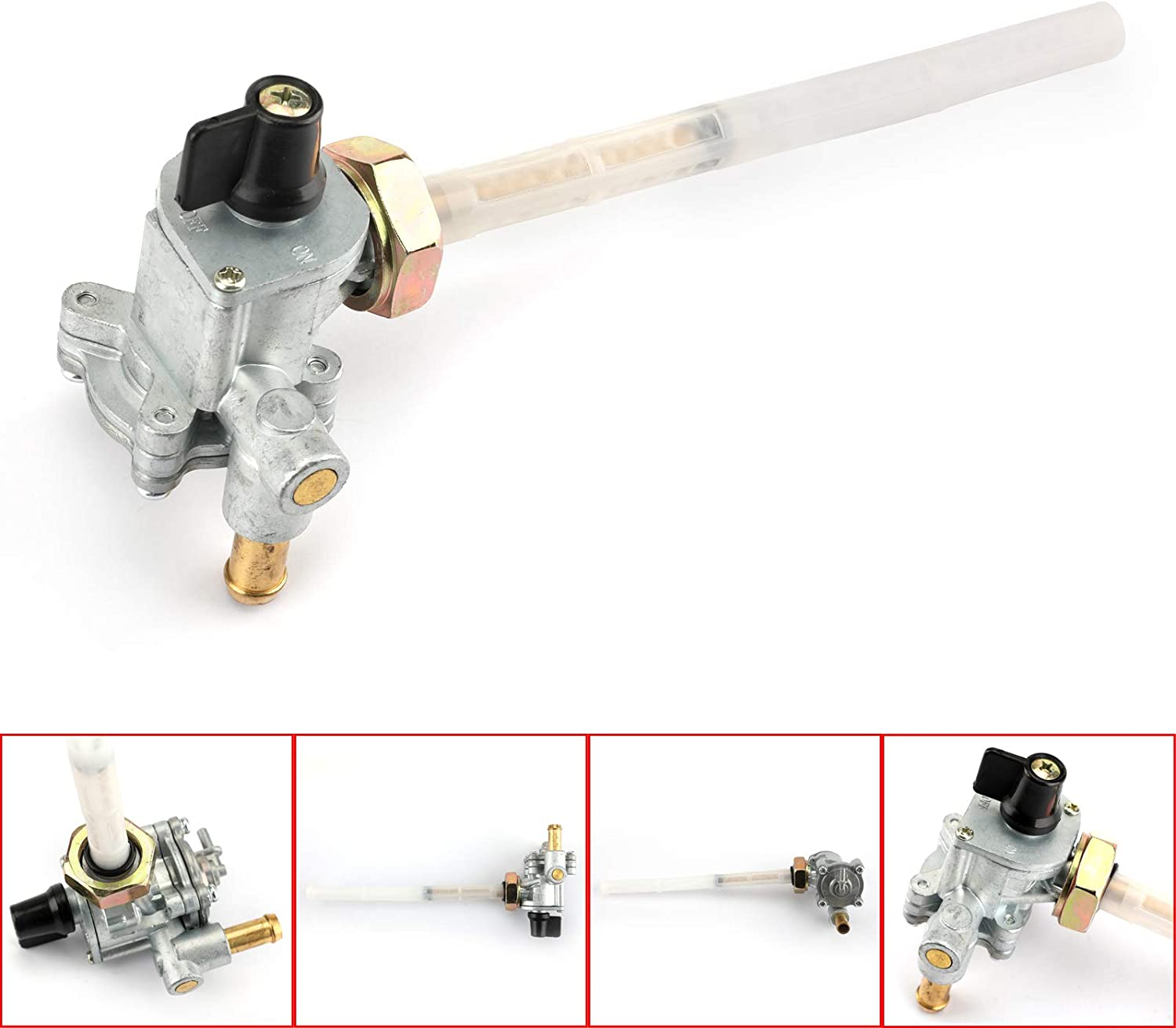 Amhousejoy Fuel Petcock Valve Switch for Honda Shadow Aero Spirit VT750C VT750C2 VT750CA